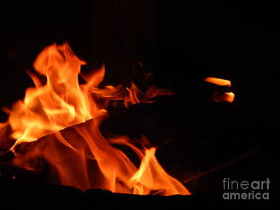 Photograph - Camp Fire by Chris Tarpening
