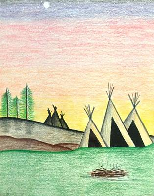 Painting - Camp by Heidi Moss
