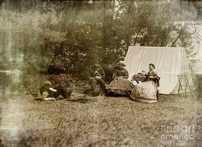Photograph - Camp Life by Randall Cogle
