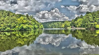 Photograph - Camp Mountain Lake by Cris Hayes