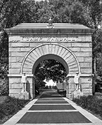 Photograph - Camp Randall Memorial Arch 2 - Madison by Steven Ralser