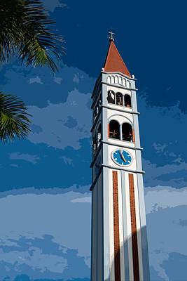 Campanario - Iglesia Maria Auxiliadora X Art Print by Totto Ponce