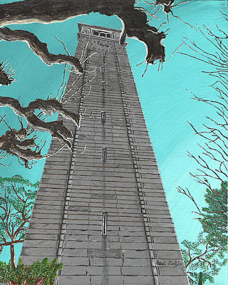 Painting - Campanile by Paul Fields