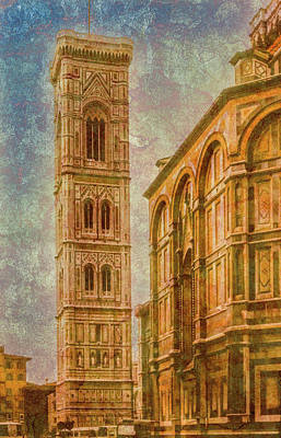 Photograph - Florence, Italy - Campanile Del Duomo by Mark Forte
