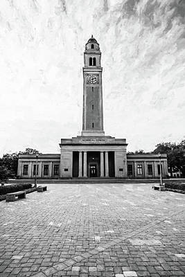 Campanile  - Memorial Tower Print by Scott Pellegrin