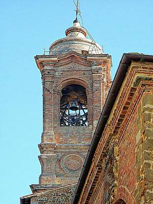 Photograph - Campanile Of Chiesa Dei Santi Gervasio E Protasio by Dorothy Berry-Lound