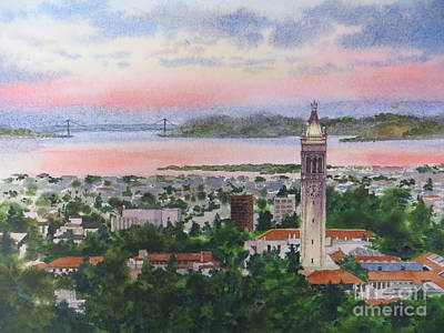 Painting - Campanille Tower by Karol Wyckoff