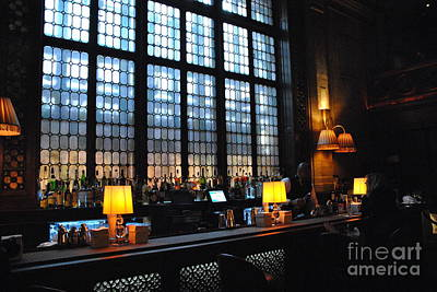 Photograph - Campbell Apartment Bar At Grand Central by Jacqueline M Lewis