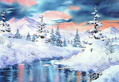 Painting - Campbell Creek View by Teresa Ascone