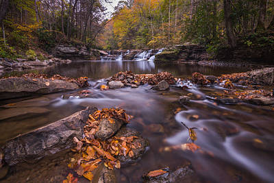 Photograph - Campbell Falls Camp Creek State Park by Rick Dunnuck