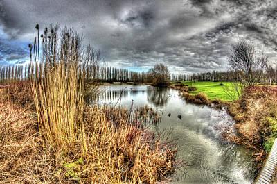 Milton Keynes Photograph - Campbell Park Milton Keynes by KonTrasts