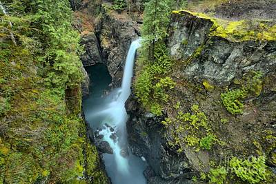Photograph - Campbell River British Columbia Waterfall by Adam Jewell