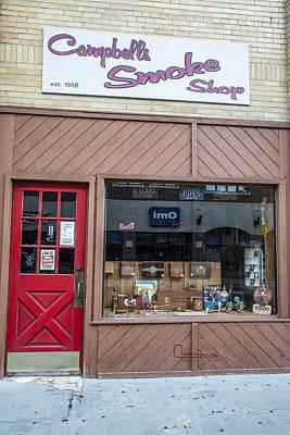 Photograph - Campbell's Smoke Shop by John McGraw