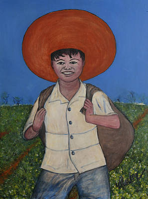 Painting - Campesino by Bill Bailey