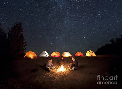 Photograph - Campfire by Ben Canales