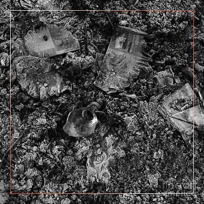 Photograph - Campfire Debris 2 by Paul Davenport
