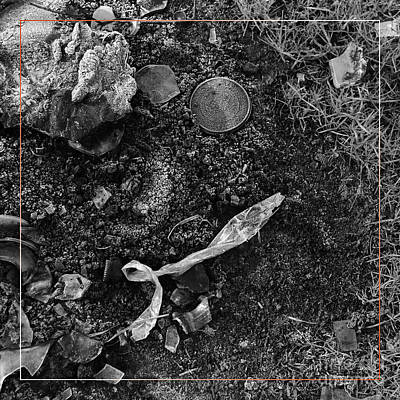 Photograph - Campfire Debris 3 by Paul Davenport
