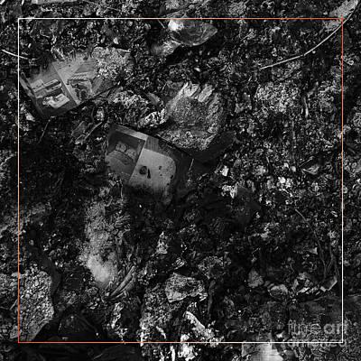 Photograph - Campfire Debris 5 by Paul Davenport