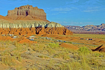 Photograph - Campground In Goblin Valley State Park, Utah  by Ruth Hager
