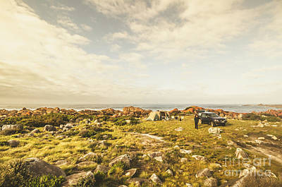 Travelling Wall Art - Photograph - Camping, Driving, Trekking by Jorgo Photography - Wall Art Gallery