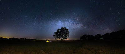 Photograph - Camping Under The Milky Way by Mark Andrew Thomas