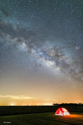 Photograph - Camping Under The Stars by Fran Gallogly