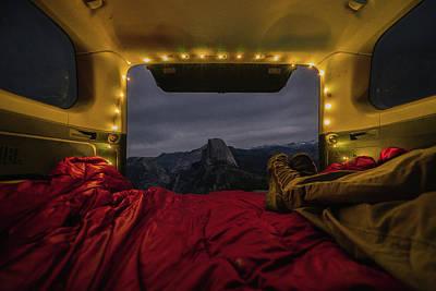 Camping Views Art Print