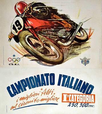 Painting - Campionato Italiano  by Roberto Prusso