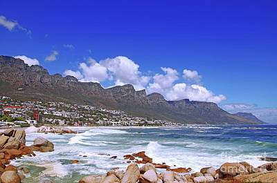 Camps Bay, Cape Town, South Africa Art Print