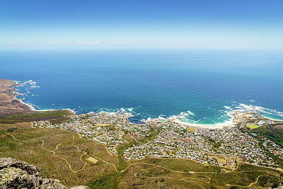 Photograph - Camps Bay In Cape Town by Alexey Stiop
