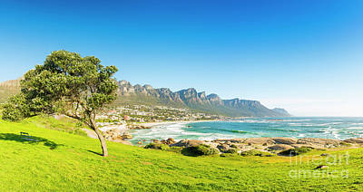 Royalty-Free and Rights-Managed Images - Camps Bay in Cape Town, South Africa by Tim Hester