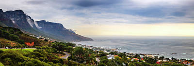 Photograph - Camps Bay Panorama by Alexey Stiop