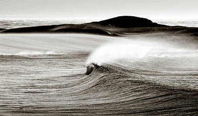 Camps Bay Wave Art Print by Tim Booth