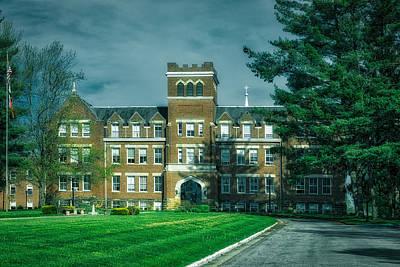 Wesleyan Photograph - Campus Of Wesleyan College by Mountain Dreams