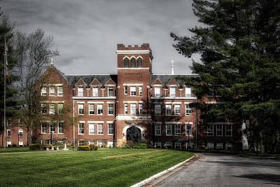 Wesleyan Photograph - Campus Of Wesleyan College - West Virginia by Mountain Dreams