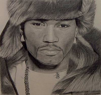 Drawing - Camron by Angelee Borrero