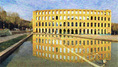 Can Fabra Barcelona Art Print