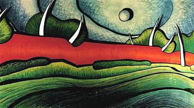 C.a.n. View Art Print by Jason Charles Allen