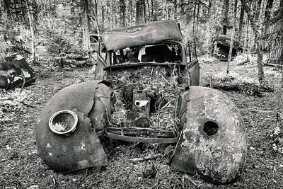 Scrap Metal Yard Photograph - Can You Fix Me? by Martin Bergsma