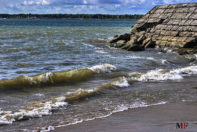 Photograph - Can You Hear The Waves by Michael Frank Jr