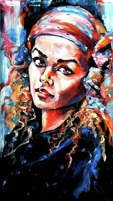 Painting - Can You Remember by Kovacs Anna Brigitta