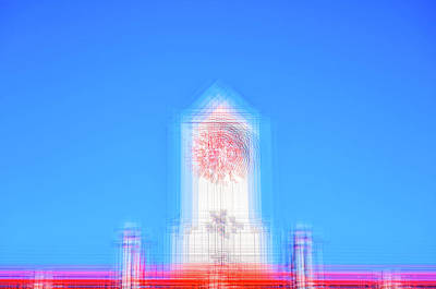 Impressionist Photograph - Can You Tell The Time? by Joseph S Giacalone