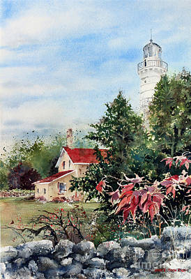 Painting - Cana Light In Door County by Monte Toon