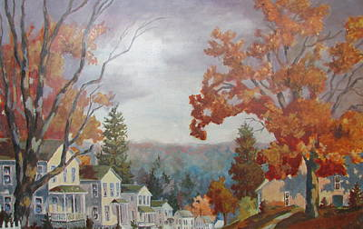 Painting - Canaan Street by Tony Caviston