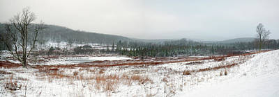 Photograph - Canaan Valley Panorama In Snow by Jack Nevitt