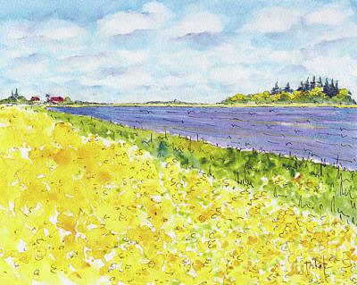 Painting - Canada 150 Manitoba by Pat Katz