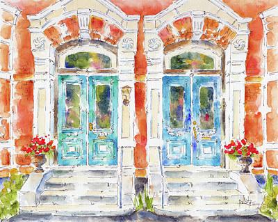 Painting - Canada 150 New Brunswick by Pat Katz