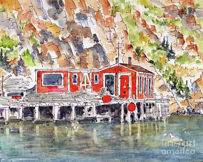 Painting - Canada 150 Newfoundland Labrador by Pat Katz