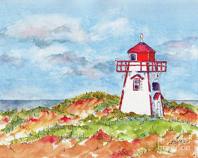Painting - Canada 150 Prince Edward Island by Pat Katz