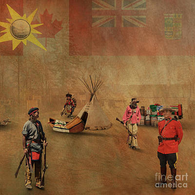 Digital Art - Canada 150 Years Old by Jim Hatch